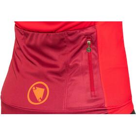 Endura Hyperon II Jersey shortarm Dame red